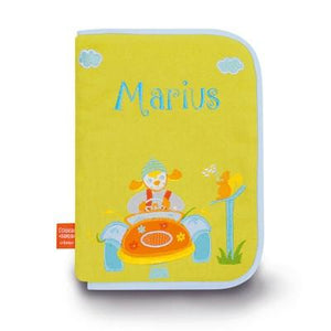 Personalized Embroidered Health Book Cover Car - PetitePeople