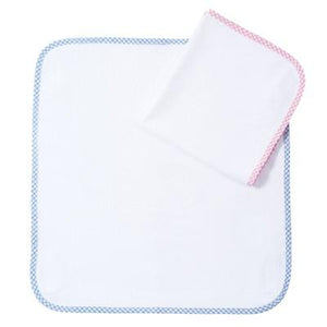 Personalized Terry Changing Mat (Light Blue Gingham) - PetitePeople, Changing Mat[product_tag]