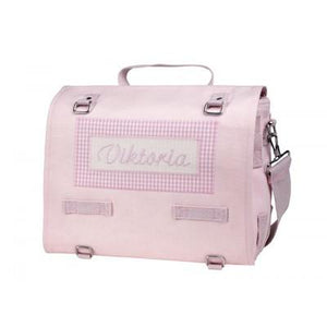 Personalized Diaper Bag Pink - PetitePeople, Diaper Bag[product_tag]