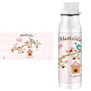 Personalised Alfi Stainless Steel Flask Floral Rose - PetitePeople, Drinking Bottle[product_tag]