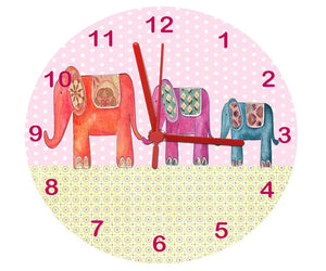 Nursery Clock, elephant