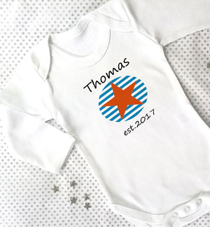 New born Established Baby Grow
