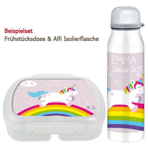 Unicorn school set and bottle - PetitePeople
