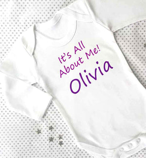 It's All About Me ! Baby Grow