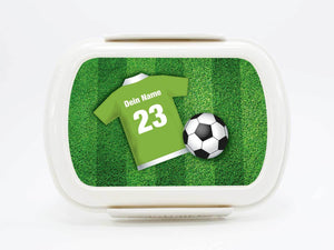 "Brotdose Deluxe ""football"" in many colors, with names - PetitePeople"