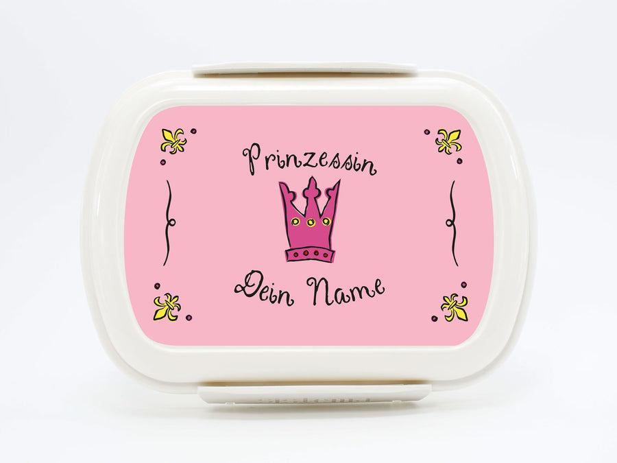 Personalized Lunchbox Princess (double lines) - PetitePeople
