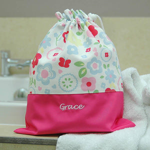 Girls Personalised Child's Wash Bag - PetitePeople
