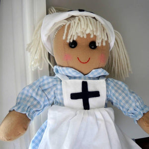 Personalised Nurse Rag Doll - PetitePeople