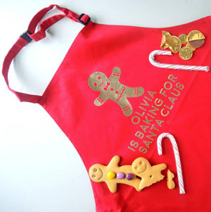 Christmas apron Gingerbread man - PetitePeople