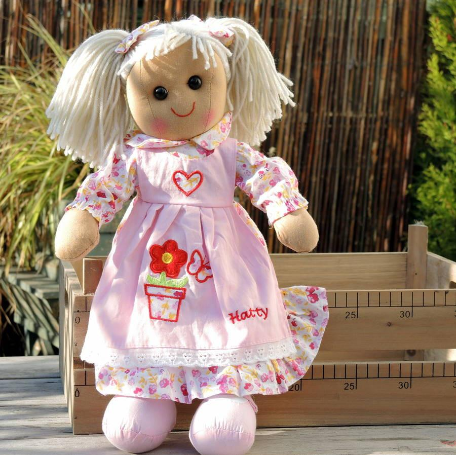 Personalised Rag Doll - PetitePeople