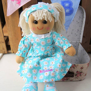 Personalised Tatiana Rag Doll - PetitePeople