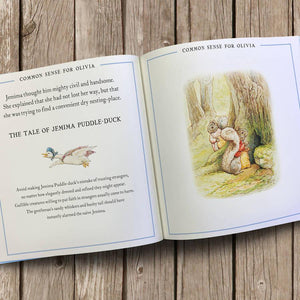 Peter Rabbit Life lessons, personalised book - PetitePeople