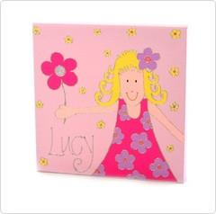 Personalised painting: Girl - PetitePeople