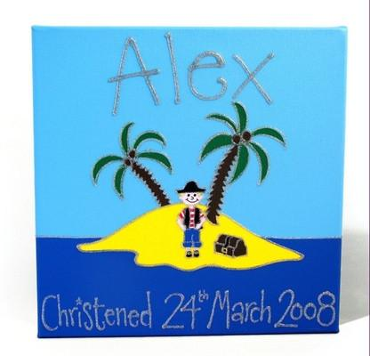 Personalised Painting - Island - PetitePeople
