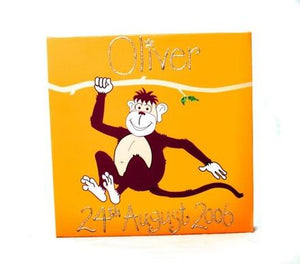 Personalised painting: Monkey - PetitePeople