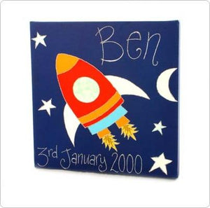 Personalised painting: Rocket - PetitePeople
