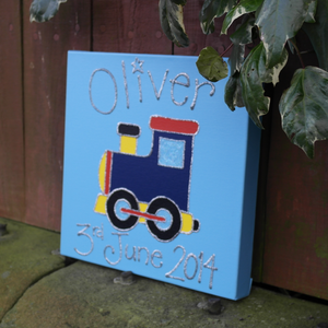 Personalised painting: Train