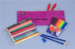 Personalized Pencil Case & Contents Purple - PetitePeople