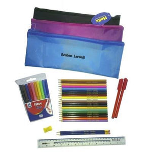 Personalized Pencil Case & Contents Black - PetitePeople