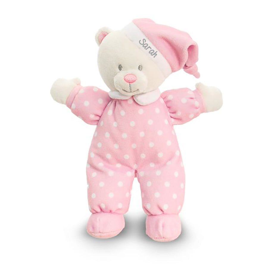 Pink Goodnight Bear - PetitePeople, Teddy bear[product_tag]
