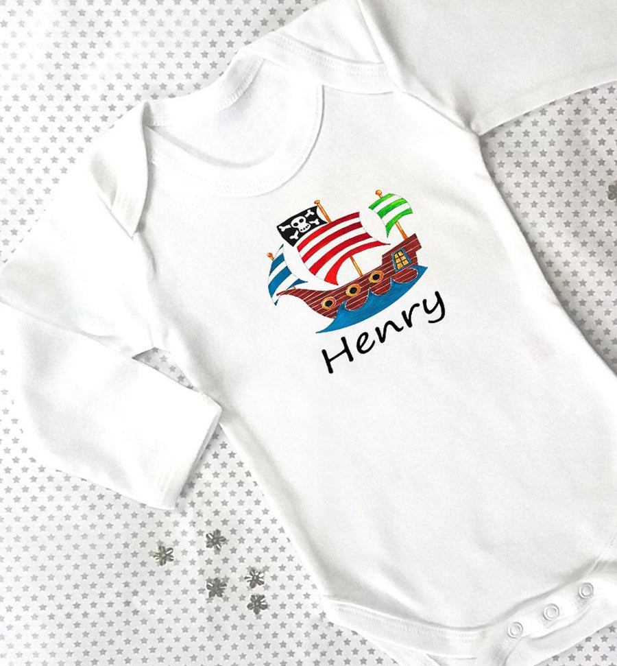 Pirate Baby Grow