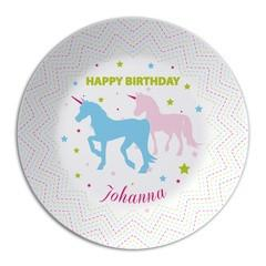Personalized Plate Unicorns - PetitePeople