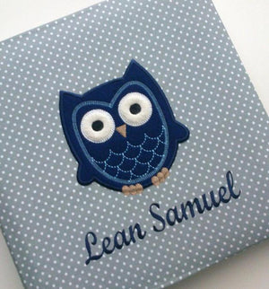 Personalised Baby Album with cute application - PetitePeople