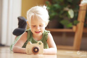Personalized Wooden Camera Imagination Toy - PetitePeople
