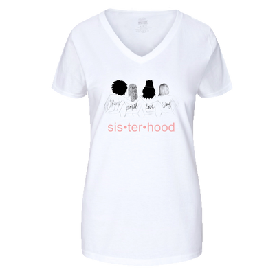 Boxed Sisterhood Brand Tee *Pink Letters* - Boxed Sisterhood