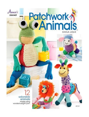 Patchwork Animals Crochet Pattern Book