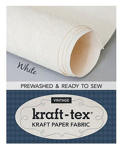 Vintage Kraft-Tex - White Color