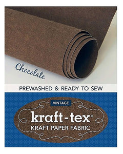 Vintage Kraft-Tex - Chocolate Color
