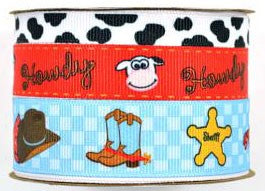 Babyville Boutique Ribbons - Cowbaby