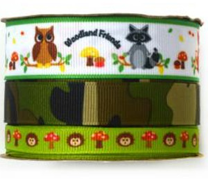 Babyville Boutique Ribbons - Forest Friends