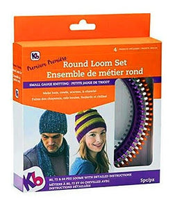 "KB ""Premium' Round Loom Set, Includes 3 Looms"
