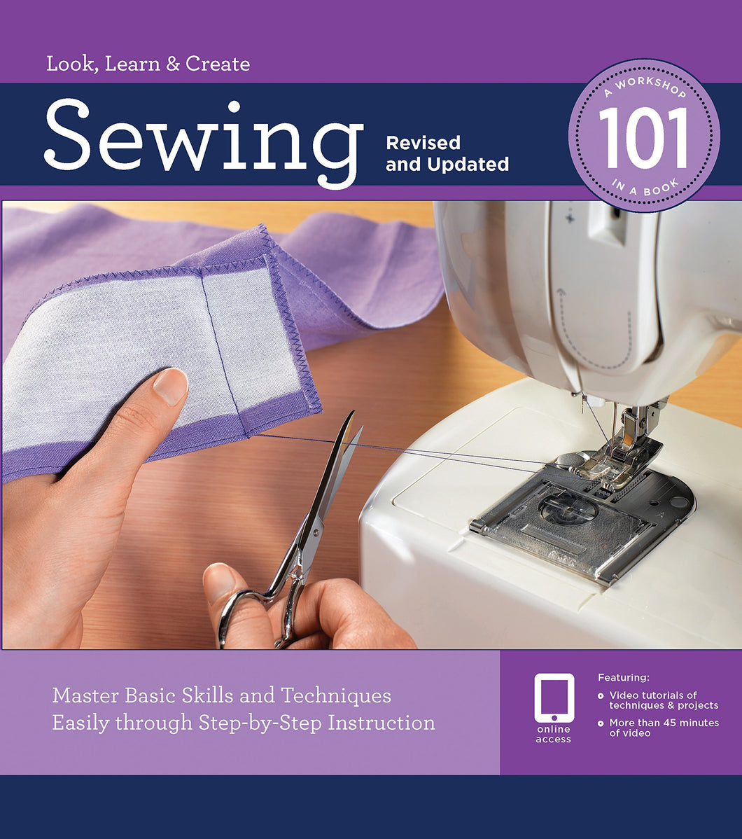 Sewing 101, DVD Included (Revised & Updated)