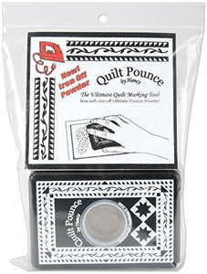 Quilt Pounce Pad with White Chalk Powder