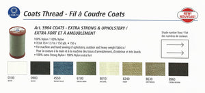 Coats Extra Strong & Upholstery Thread