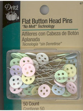 Flat Button Head Pins