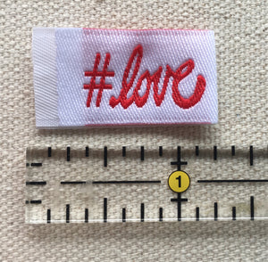 Tag It Ons (Tags for Quilts and Clothing, alike) - Asst'd Sayings and Sizes