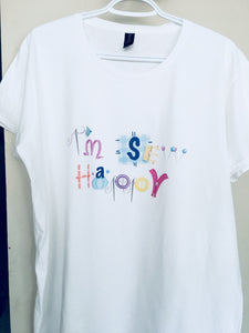 I'm Sew Happy Women's T-shirt (PRE-ORDER)
