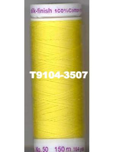 Mettler Silk Finish Cotton Thread, Large Spool