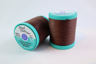 Coats Dual Duty Plus Button & Craft Waxed Thread