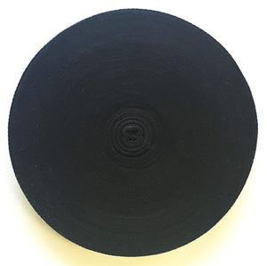 Twill Tape - Cotton (Black or White), 1""