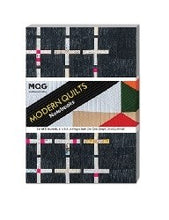 Modern Quilts Notebooks (Set of 3 Journals)