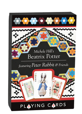 Michele Hills Beatrix Potter Playing Cards