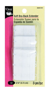 "Bra Back Extenders, 2-1/4"" - Asst'd Colors"
