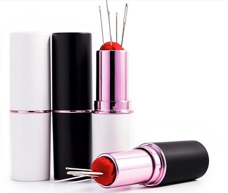 Lipstick Needle & Pin Case - Assorted Colours