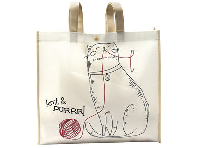 Knit and Purrrl Reusable Tote