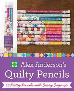 Alex Anderson's Quilty Pencils